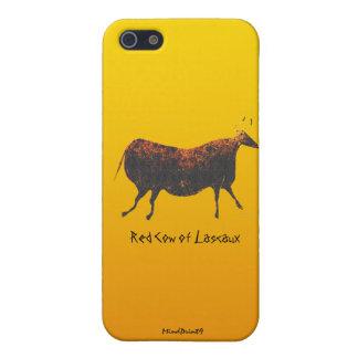Röd ko av Lascaux iPhone 5 Fodraler