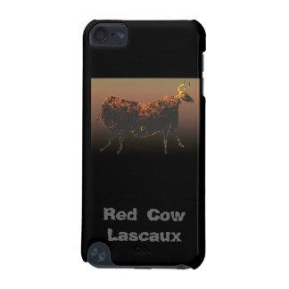 Röd ko av Lascaux iPod Touch 5G Fodral