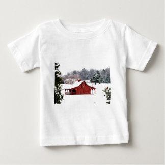 röd ladugård tee shirt