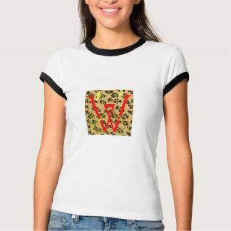 röd leopard för w tröja