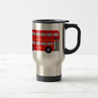 Röd London buss Resemugg