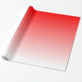 Röd lutning presentpapper