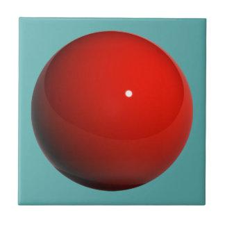 Röd marmor kakelplatta