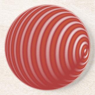 Röd marmor underlägg