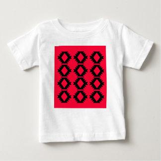 Röd mayan design för Ethno design T Shirt