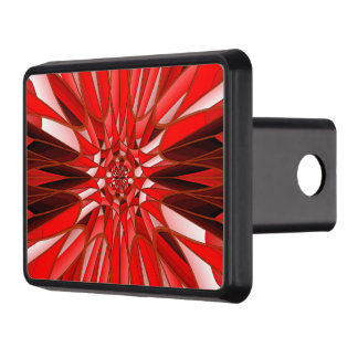 Röd mineral dragkroksskydd