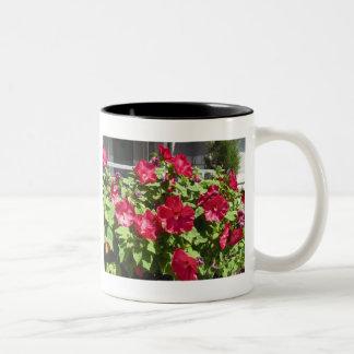 Röd mugg för hibiskus III