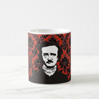Röd mugg för Poe-Victoriantapet -