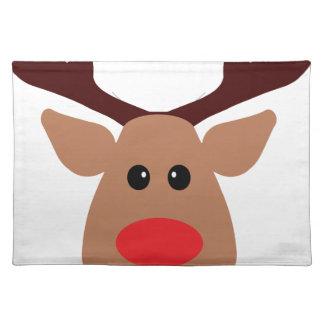 Röd Nosed ren för jul Bordstablett
