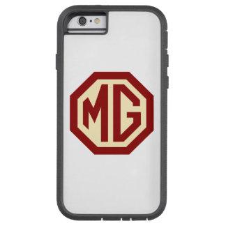 Röd och guld- MG-logotyp Tough Xtreme iPhone 6 Skal