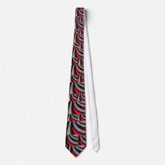 Röd och svart Fractal Slips