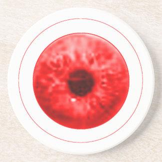 Röd ögaögonglobjGibney MUSEUMkonstnären Serie Underlägg