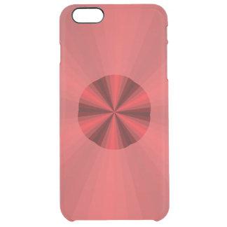 Röd ovanlig iphone case för optisk illusion clear iPhone 6 plus skal