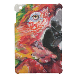 Röd papegoja iPad mini mobil skal