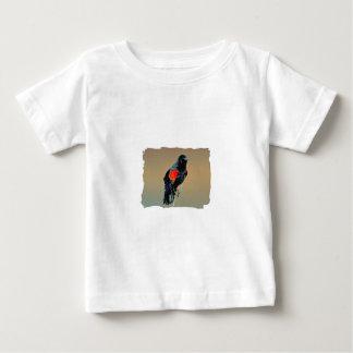 Röd-påskyndad Blackbirdkonst Tröjor