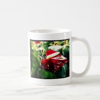 Röd passion kaffemugg