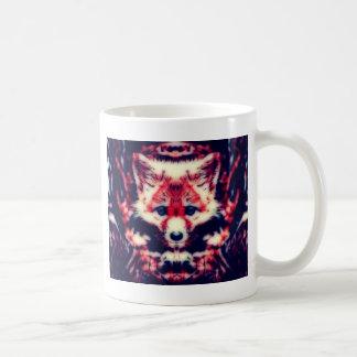 Röd räv kaffemugg