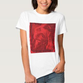 Röd reflexionsT-tröja - anpassade Tee Shirt