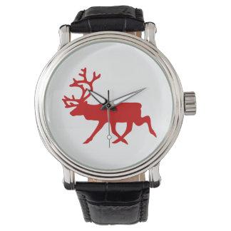 Röd ren-/CaribouSilhouette