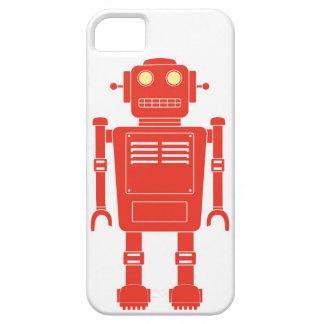 Röd robot iPhone 5 Case-Mate skal