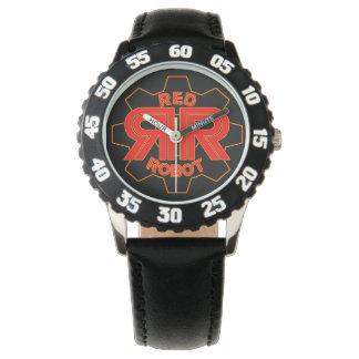 Röd robot Time Armbandsur