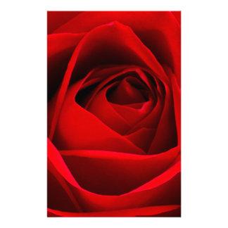 Röd ros brevpapper