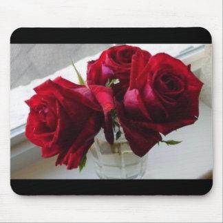 röd ros musmatta
