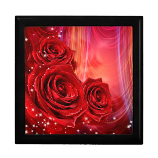 Röd ros presentskrin
