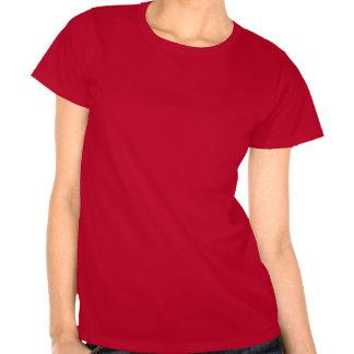 Röd rosDala häst T-shirts