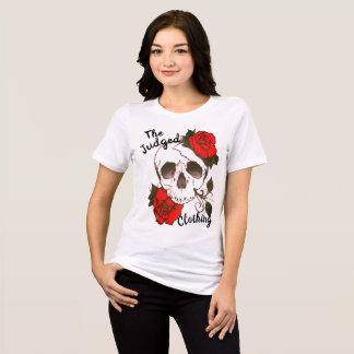 röd rosed thejudged kvinna för skalle skjorta för tröjor