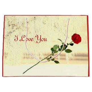 Röd rosvintern glaserar mig älskar dig designen