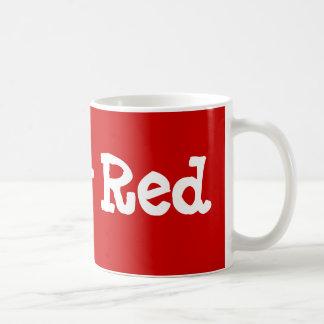 Röd Ruby Kaffemugg