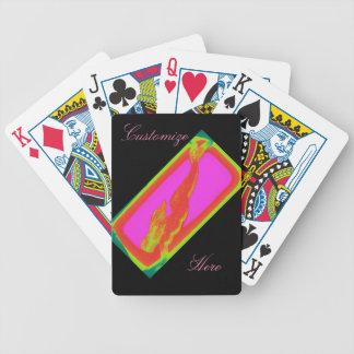 röd sjöjungfrudykning spelkort