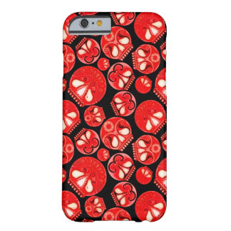 Röd skalledagbok barely there iPhone 6 skal