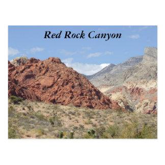 Röd stenkanjon, Mojaveöken, nära Las Vegas Vykort