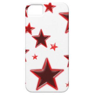 Röd stjärna iPhone 5 skal