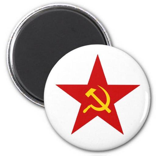 Röd stjärna magneter