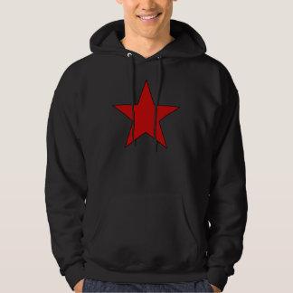 Röd stjärna sweatshirt