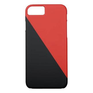 röd svart för anarkiflagga