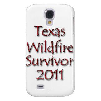 Röd Texas löpeldöverlevande 2011 Galaxy S4 Fodral