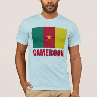 Röd text för Kamerunflagga T Shirt