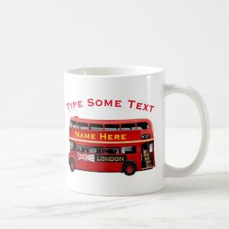 Röd Themed London buss Kaffemugg