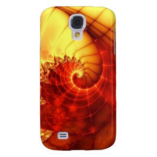 Röd Tide Galaxy S4 Fodral