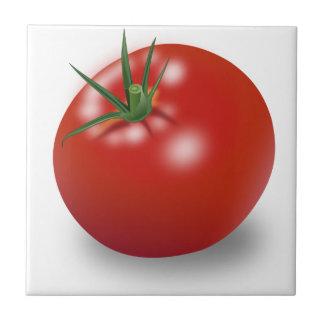 Röd tomatdesign kakelplatta