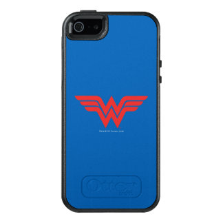 Röd undra kvinnalogotyp OtterBox iPhone 5/5s/SE skal