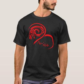 Röd vädur för serie 1 t-shirts