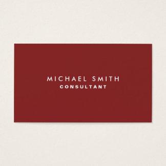 Röd vanlig elegant Cosmetologist för professionell Visitkort