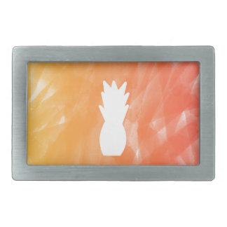 Röd vattenfärgananas - som är orange/