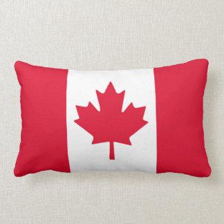 Röd vit Kanada för kanadensisk flaggalönnlöv Lumbarkudde