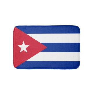 Röd vit- och blåttflagga av Kuban Badrumsmatta